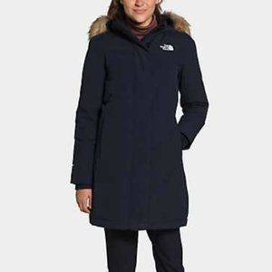The North Face Arctic Size S Navy Down Parka